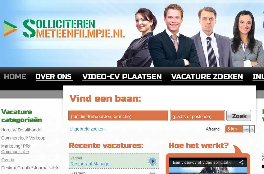 solliciteren<br>meteenfilmpje.nl